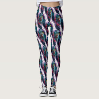 Abstract Fractal Pattern #2 Leggings