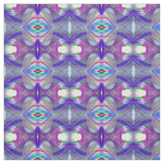 abstract fractal pattern fabric