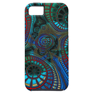 Abstract Fractal Wave iPhone 5 Case