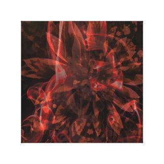 Abstract Fractals Canvas Print