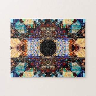 Abstract Fractals | Relaxation Mandala Jigsaw Puzzle