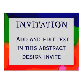 Abstract Frame 4, INVITATION,
