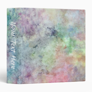 abstract free hand drawing from watercolor 3 ring binder