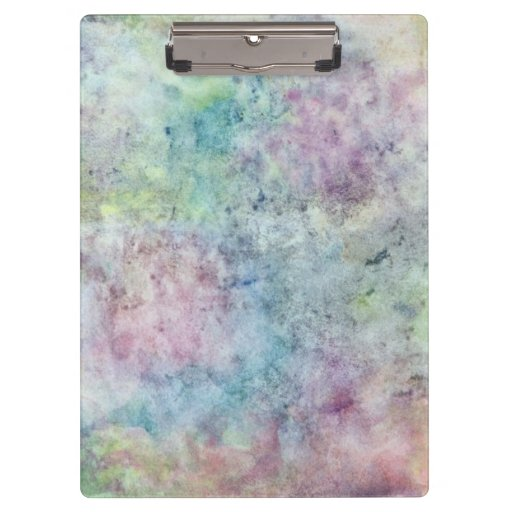 abstract free hand drawing from watercolor clipboard