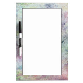 abstract free hand drawing from watercolor dry erase whiteboards