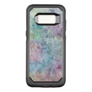 abstract free hand drawing from watercolor OtterBox commuter samsung galaxy s8 case