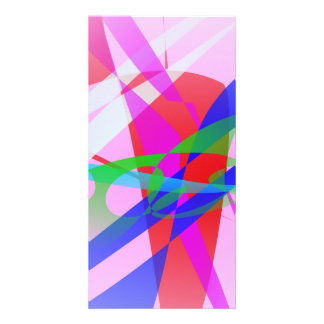 Abstract Freedom Photo Card