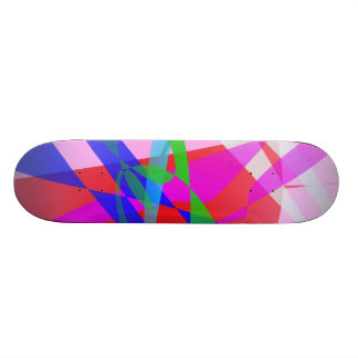 Abstract Freedom Skateboard