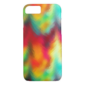Abstract Fresh Tropical Breeze color Pattern iPhone 7 Case
