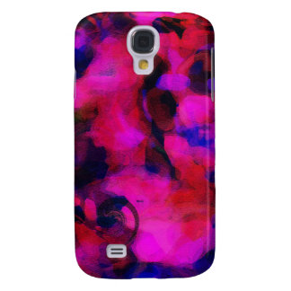 Abstract Funky Bright Colours Art Phone Case Samsung Galaxy S4 Covers