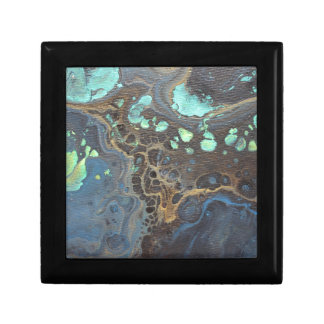 Abstract Funky Galaxy Gift Box