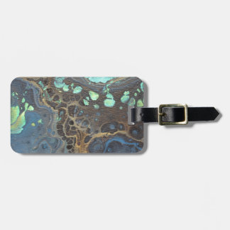 Abstract Funky Galaxy Luggage Tag