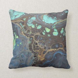 Abstract Funky Galaxy Pillow