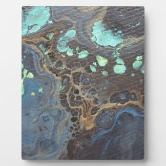 Abstract Funky Galaxy Plaque