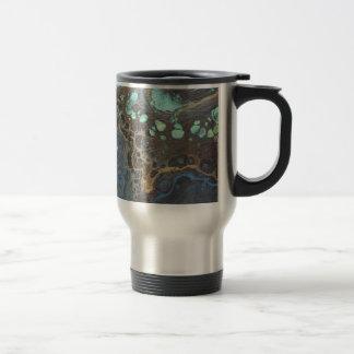 Abstract Funky Galaxy Travel Mug
