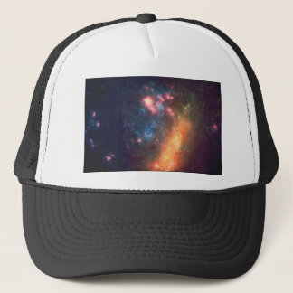 Abstract Galactic Color of Nebula Cloud Trucker Hat