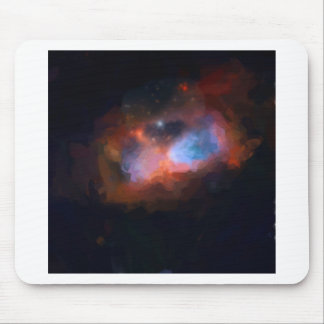 abstract galactic nebula no 1 mouse pad