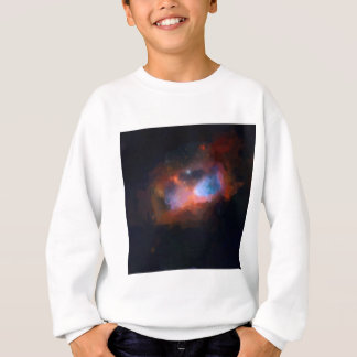 abstract galactic nebula no 1 sweatshirt