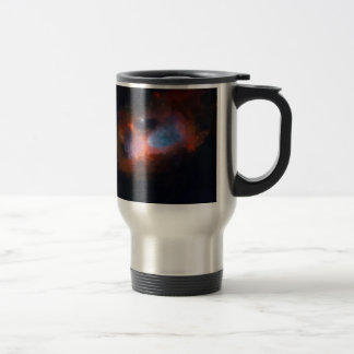 abstract galactic nebula no 1 travel mug