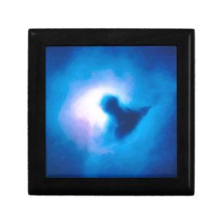 abstract galactic nebula no 3 gift box