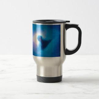 abstract galactic nebula no 3 travel mug