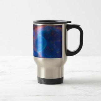 Abstract Galactic Nebula with cosmic cloud 10 Travel Mug