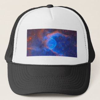 Abstract Galactic Nebula with cosmic cloud 10 Trucker Hat