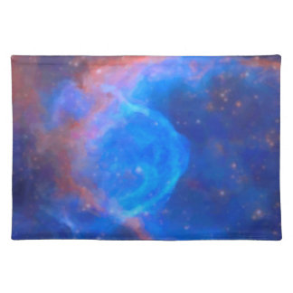 Abstract Galactic Nebula with cosmic cloud 10 xl.j Placemat