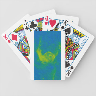 Abstract Galactic Nebula with cosmic cloud 11 Bicycle Playing Cards