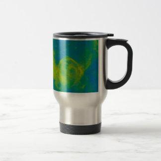 Abstract Galactic Nebula with cosmic cloud 11 Travel Mug