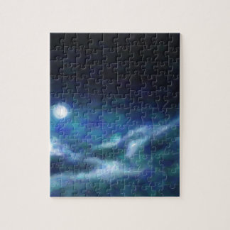 Abstract Galactic Nebula with cosmic cloud  14 Jigsaw Puzzle