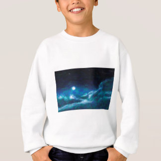 Abstract Galactic Nebula with cosmic cloud  14 Sweatshirt