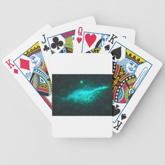 Abstract Galactic Nebula with cosmic cloud 15 Bicycle Playing Cards