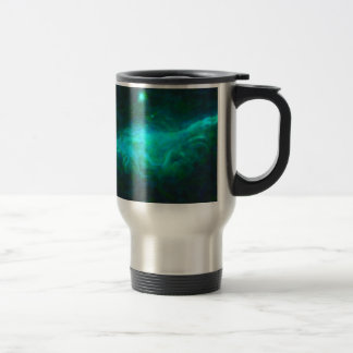 Abstract Galactic Nebula with cosmic cloud 15 Travel Mug