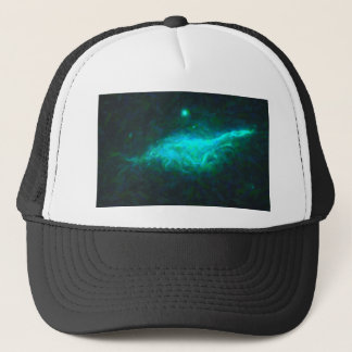 Abstract Galactic Nebula with cosmic cloud 15 Trucker Hat