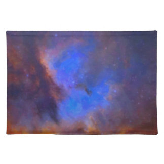 Abstract Galactic Nebula with cosmic cloud 2 Placemat