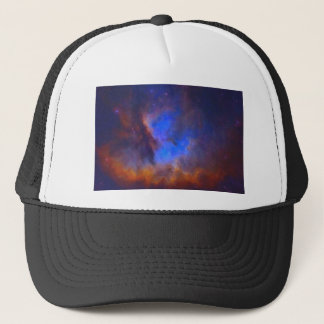 Abstract Galactic Nebula with cosmic cloud 2 Trucker Hat