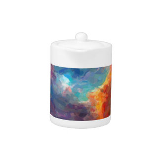 Abstract Galactic Nebula with cosmic cloud 4