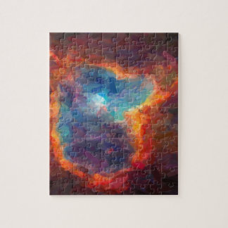 Abstract Galactic Nebula with cosmic cloud 4 Jigsaw Puzzle