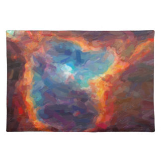 Abstract Galactic Nebula with cosmic cloud 4 Placemat