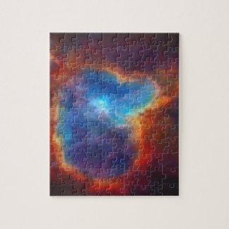 Abstract Galactic Nebula with cosmic cloud 4a Jigsaw Puzzle
