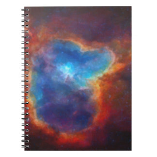 Abstract Galactic Nebula with cosmic cloud 4a Notebook