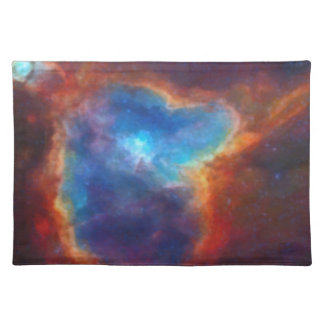 Abstract Galactic Nebula with cosmic cloud 4a Placemat