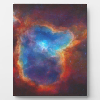 Abstract Galactic Nebula with cosmic cloud 4a Plaque