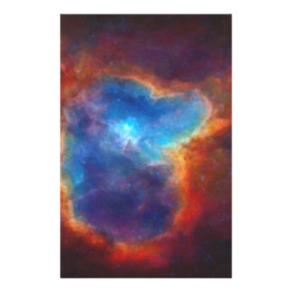 Abstract Galactic Nebula with cosmic cloud 4a Stationery