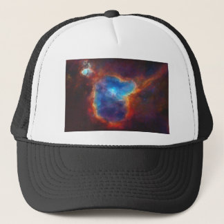 Abstract Galactic Nebula with cosmic cloud 4a Trucker Hat