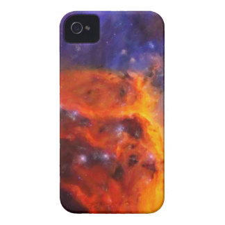 Abstract Galactic Nebula with cosmic cloud 5 iPhone 4 Case