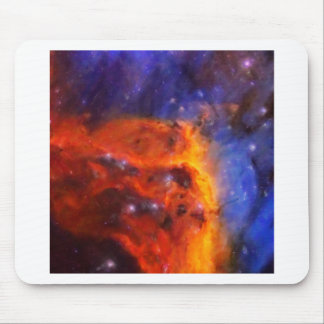 Abstract Galactic Nebula with cosmic cloud 5 Mouse Pad