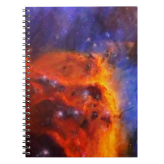 Abstract Galactic Nebula with cosmic cloud 5 Notebook