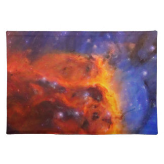 Abstract Galactic Nebula with cosmic cloud 5 Placemat